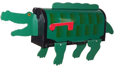 Crocodile Novelty Mailboxes