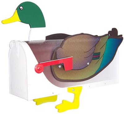 Mallard Duck Novelty Mailbox