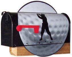 Golf Ball Novelty Mailbox