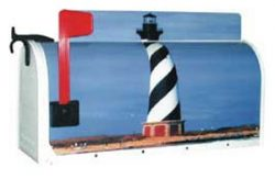 Lighthouse Novelty Mailboxes