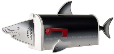 Shark Novelty Mailbox