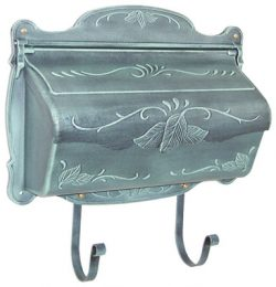 Floral Horizontal Wall Mount Mailboxes