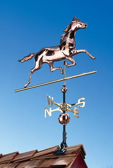 Whitehall Copper Horse Classic Weathervane