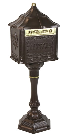 Amco Colonial Pedestal Locking Mailbox