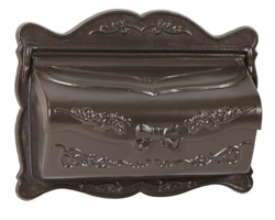 AMCO Provincial Wall Mount Mailbox Bronze