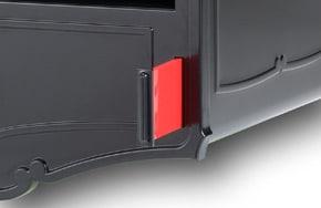 metal mailbox flag. Geneva Locking Post Mount Mailbox Metal Flag M