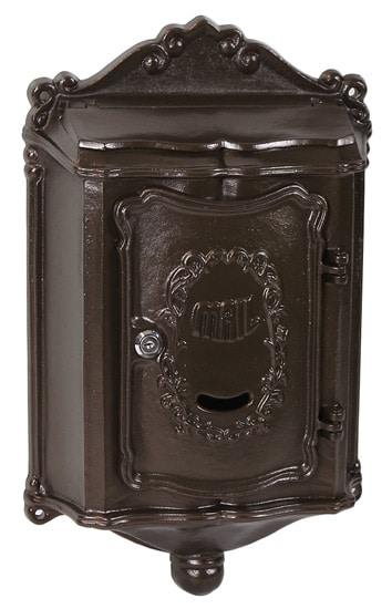 Colonial Locking Wall Mount Mailbox