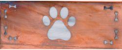 America's Finest Horizontal Mailbox Dog Paw