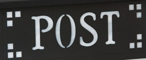 America's Finest Horizontal Mailbox Pasadena Post