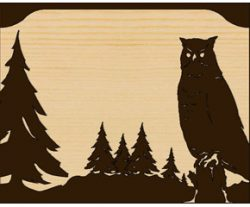 America's Finest Large Mailbox Horned Owl