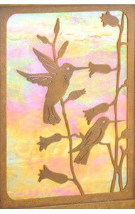 America's Finest Vertical Mailbox Hummingbird