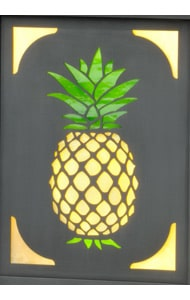 America's Finest Vertical Mailbox Pineapple