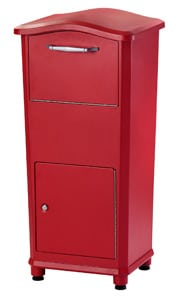 Architectural Mailboxes Elephantrunk Red
