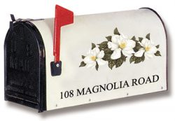 Bacova Post Mount Decorative Residential Mailboxes