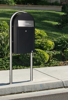 Bobi Grande Front Access Mailboxes Installed