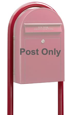 Bobi Round Mailbox Post Product Image