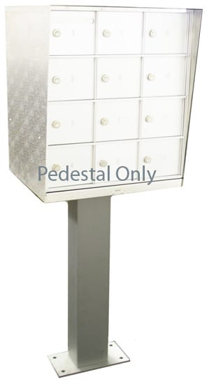 Replacement Pedestal Bommer NDCBU Mailboxes