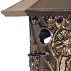 Whitehall Dogwood Bird Feeder French Bronze