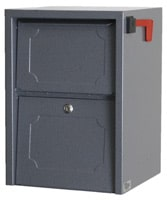 dVault Junior Delivery Vault Mailboxes Gray