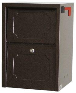 dVault Weekend Away Vault Locking Mailbox