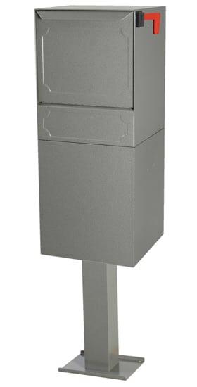 dVault Parcel Protector Vault Pedestal Mount