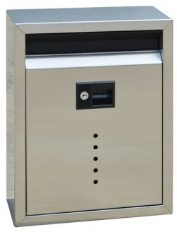 Ecco 10 Locking Wall Mount Mailbox