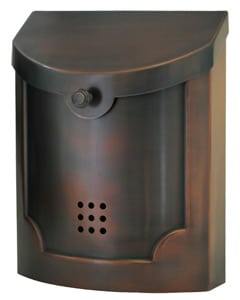 Ecco 4 Wall Mount Mailbox Product Image