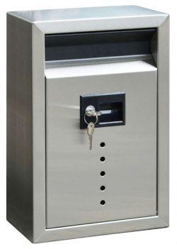 Ecco 9 Locking Wall Mount Mailbox