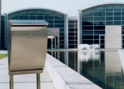 European Home Arcturus Post Mailbox Installed