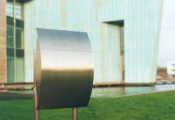 European Home Capella Post Mailbox Installed