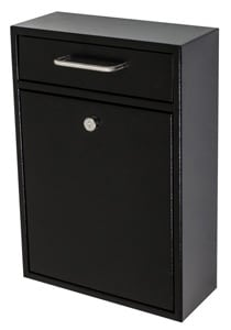 Epoch Locking Drop Box Black