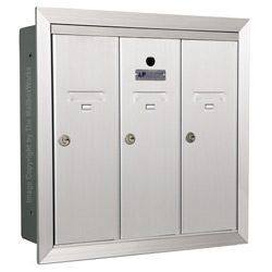 Florence 12503 Vertical Mailbox Anodized Aluminum