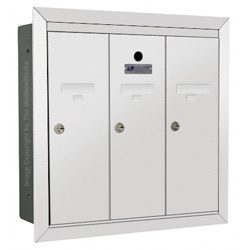 Florence 12503 Vertical Mailbox White