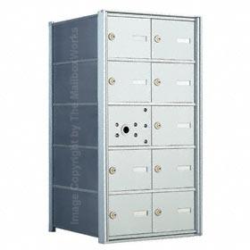 Florence 140052 Horizontal Mailbox Anodized Aluminum