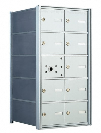 Florence 1400 Series 4B+ Commercial Mailboxes – 9 Door