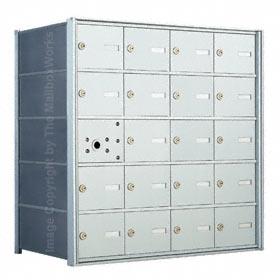 Florence 140054 Horizontal Mailbox Anodized Aluminum