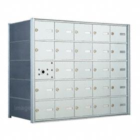 Florence 140055 Horizontal Mailbox Anodized Aluminum