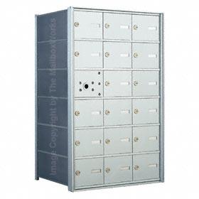 Florence 140063 Horizontal Mailbox Anodized Aluminum