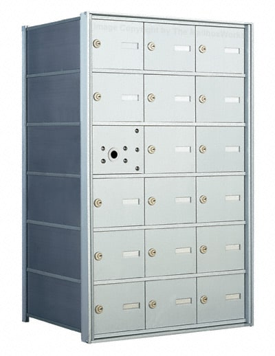 Florence 1400 Series 4B+ Commercial Mailboxes – 18 Door Product Image
