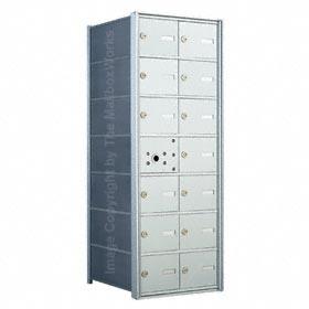 Florence 140072 Horizontal Mailbox Anodized Aluminum