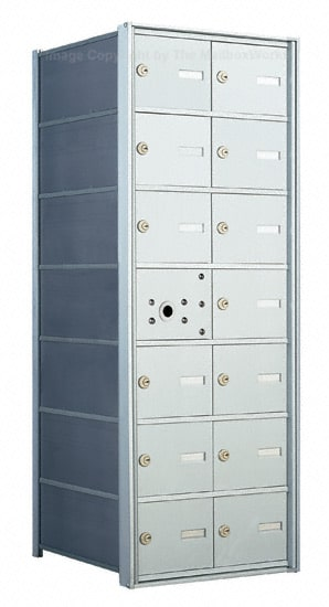 Florence 1400 Commercial Mailboxes 14 Door