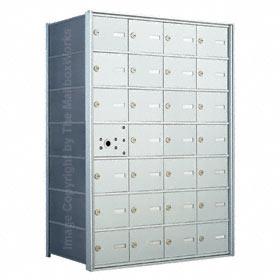 Florence 140074 Horizontal Mailbox Anodized Aluminum