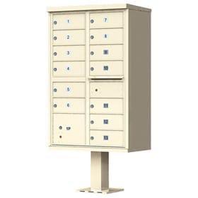 Florence 13 Door CBU Mailbox Sandstone