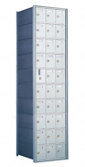 Florence Private Distribution Mailboxes 4B+ Horizontal 1600 Series 30 Door (29 Useable) 10 High
