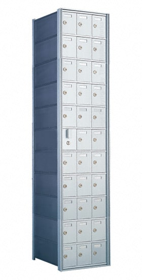 Florence Private Distribution Mailboxes 4B+ Horizontal 1600 Series 33 Door (32 Useable) 11 High