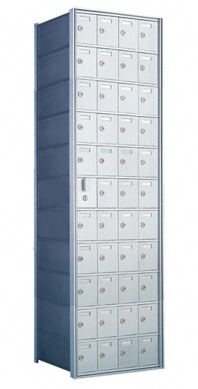 Florence Private Distribution Mailboxes 4B+ Horizontal 1600 Series 44 Door (43 Useable) 11 High