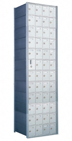 Florence Private Distribution Mailboxes 4B+ Horizontal 1600 Series 48 Door (47 Useable) 12 High