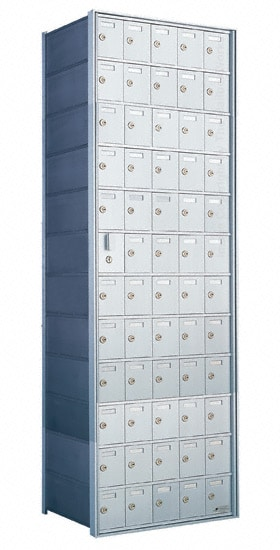 Florence Private Distribution Mailboxes 4B+ Horizontal 1600 Series 60 Door (59 Useable) 12 High