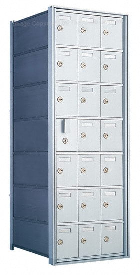 1600 Private Distribution Mailboxes 21 Door