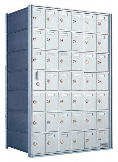 Florence Private Distribution Mailboxes 4B+ Horizontal 1600 Series 42 Door (41 Useable) 7 High Product Image